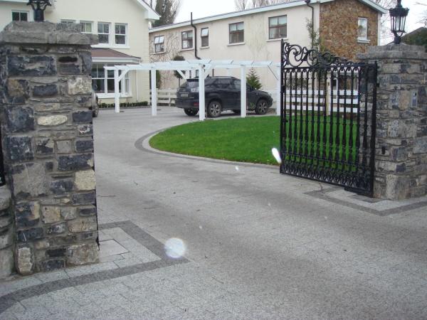 Landscaping Garden Design Paving Stone Walls Decking Planting Rush Co